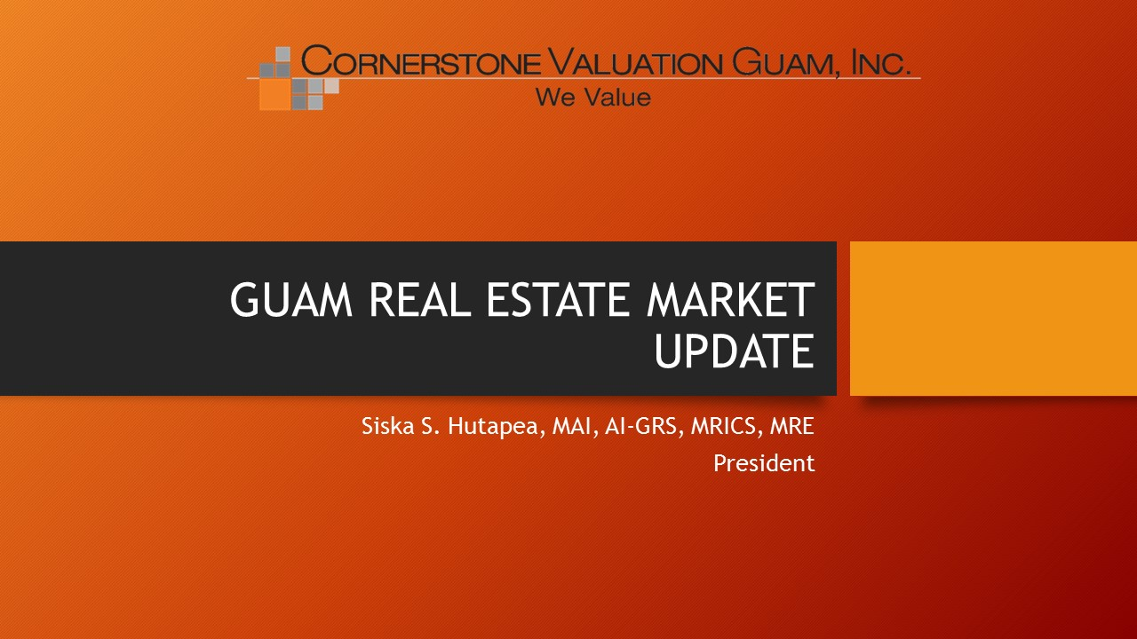 Guam Real Estate Market Update Thumb 2017 Quarter 3